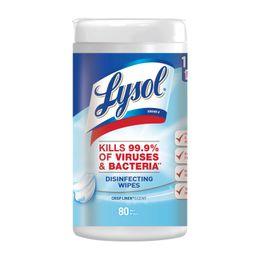 Lysol® Disinfecting Wipes - Crisp Linen®