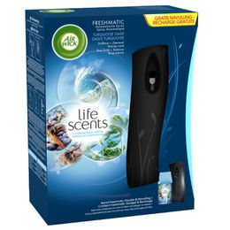 Starter Kit Freshmatic MAX Life Scents Oasis Turquoise