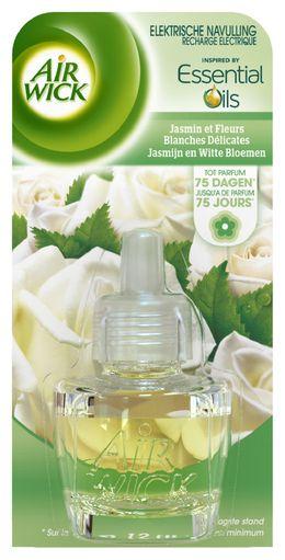 Recharge Electrique Jasmin et Fleurs Blanches Délicates