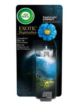 Recharge Freshmatic Compact Coquelicot Bleu de L'Himalaya