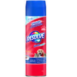 Nettoyant à tapis Resolve en mousse pour taches d'animaux