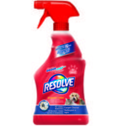 Resolve Pet Stain Remover Trigger