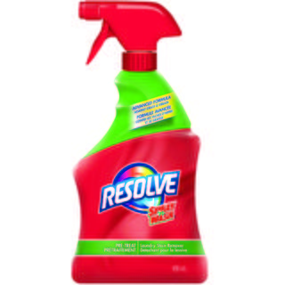 Détachant Resolve en vaporisateur de Spray'n Wash