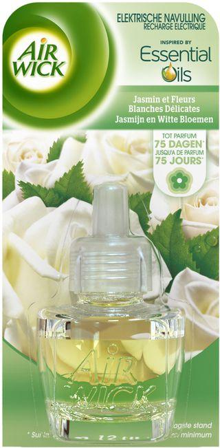 Elektrische Navulling Jasmijn en Witte Bloemen