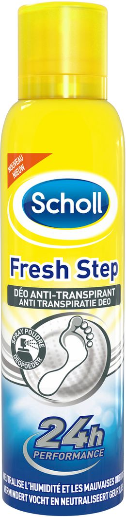 Scholl Fresh Step Deo Anti-transpirant 150ml