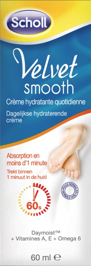 Crème hydratante quotidienne Velvet Smooth peau normale