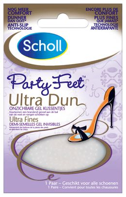 Party Feet Onzichtbare Gel Kussentjes Ultra Dun