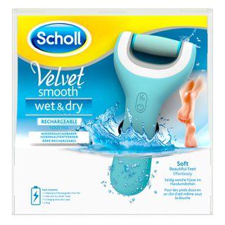 Velvet Smooth™  Express Pedi Râpe Electrique Wet & Dry™ Rechargeable