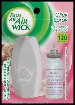 Click Spray Cheirinho de Talco Aparelho + Refil