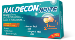 NALDECON NOITE CARTUCHO