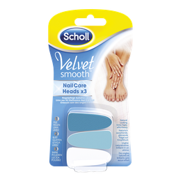 Scholl Velvet Smooth™ Nagelpflegesystem Aufsätze