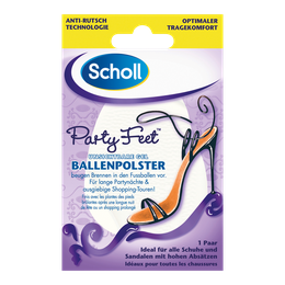 Scholl Party Feet Unsichtbare Gel Ballenpolster