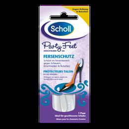 Scholl Party Feet Unsichtbarer Gel Fersenschutz
