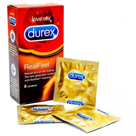 Durex Real Feel Condoms 8 Pack