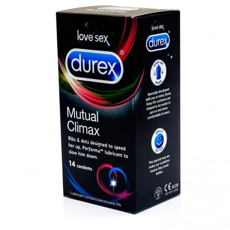 Durex Mutual Climax Condoms