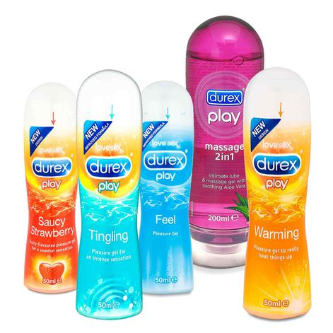 Durex Paradise For Both Lube Set