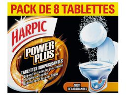 Harpic PowerPlus Tablettes Surpuissantes