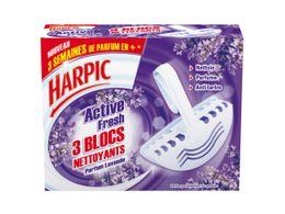 Harpic Bloc Cuvette Parfumé Lavande