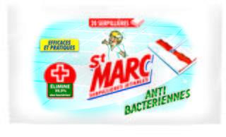 Serpillières Antibactériennes