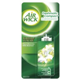 AirWick Recharge Freshmatic Compact Fleurs Blanches ¹