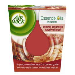 AirWick Bougie Essential Oils Pomme et Cannelle ¹