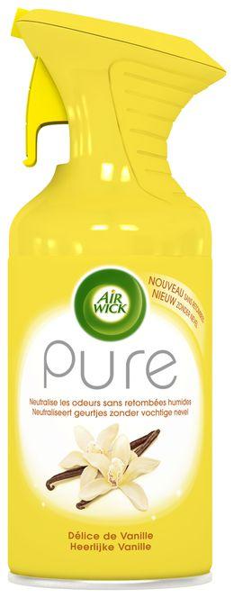Air Wick Aérosol Pure Délice de Vanille ¹