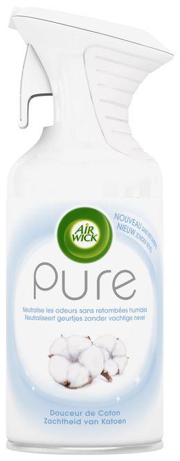 Air Wick Aérosol Pure Douceur de Coton ¹