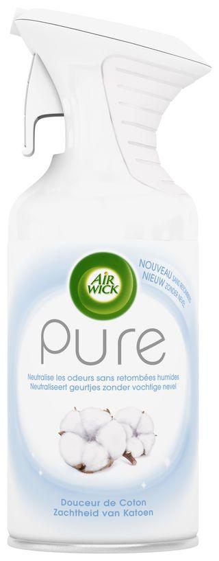 Air Wick Aérosol Pure Douceur de Coton