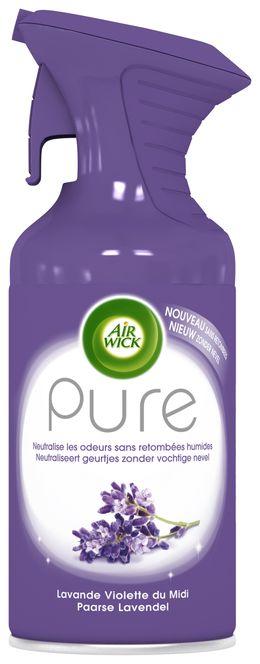 Air Wick Aérosol Pure Lavande Violette du Midi ¹