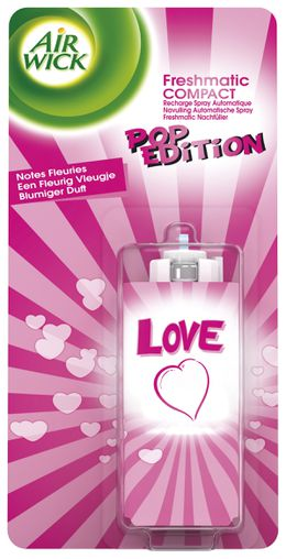 Air Wick Recharge Freshmatic Compact POP Love ¹