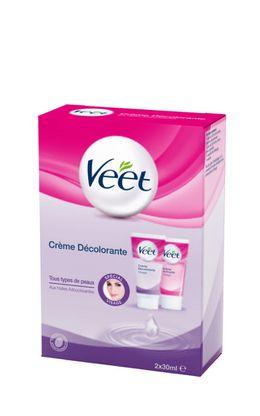 Crème Décolorante Veet - Spécial Visage