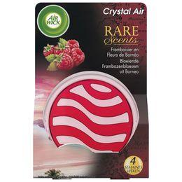 AirWick Crystal'air Rare Scents Framboisier en Fleurs de Bornéo ¹