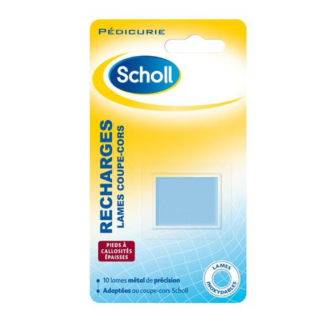 Scholl Lames Recharges Coupe-Cors