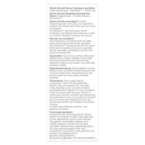 Scholl Velvet Smooth™ Sérum Hydratant Quotidien