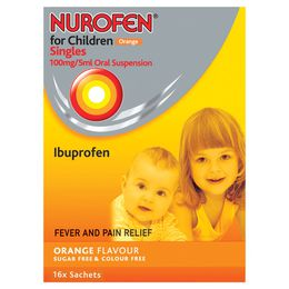 Nurofen for Children Orange SIngles