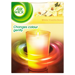 Air Wick® Colour Change Candle - White Vanilla Bean