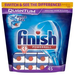 Finish Quantum Shine & Protect Regular Dishwasher Tablets x45