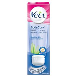 Veet® BodyCurv™ Hair Removal Cream - Bikini and Underarm - Sensitive Skin