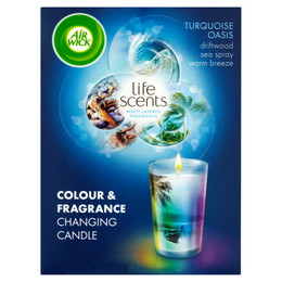 Air Wick® Colour Change Candle - Life Scents™ Turquoise Oasis