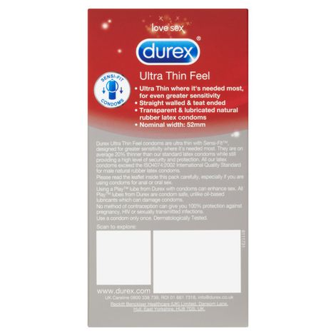 Durex Ultimate Feeling Condom Set