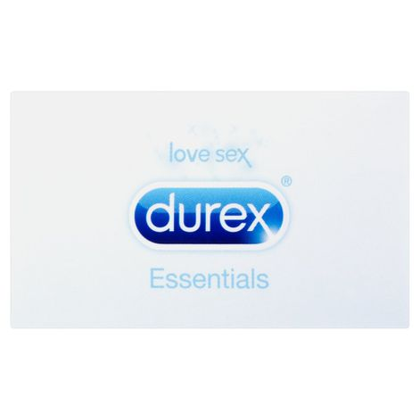 Durex Essentials Natural Latex Condoms