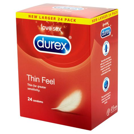 Durex Thin Feel Condoms 24 Pack