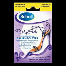 Scholl Party Feet zselés sarokemelő párna 1 pár