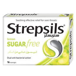 Strepsils Lemon Sugar Free