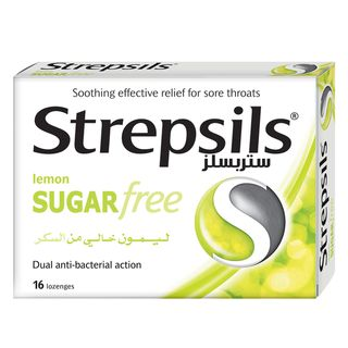 Strepsils Lemon Sugar Free