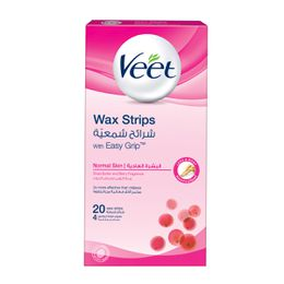 Veet Hair Remover Cold Wax Strips Normal Skin 20s