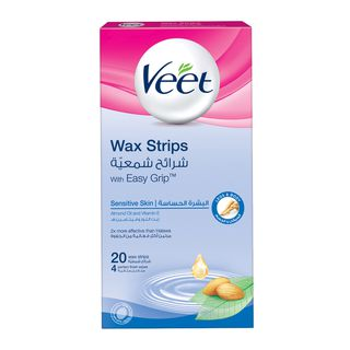 Veet Hair Remover Cold Wax Strips Sensitive Skin 20s