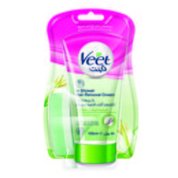 Veet Hair Remover In-Shower Cream Dry Skin 150ml