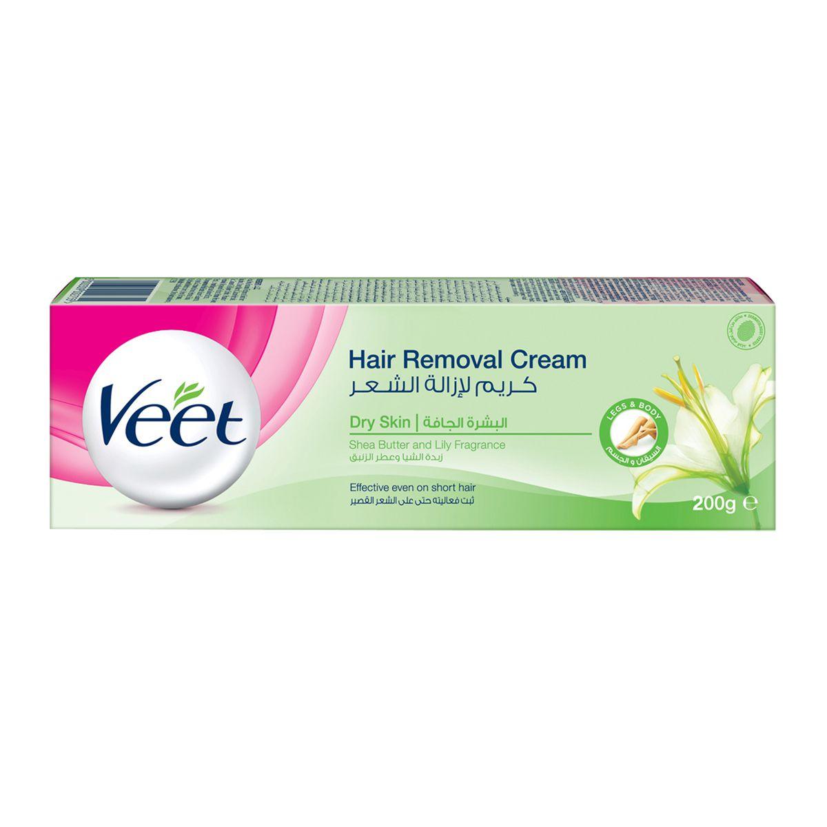 200g Veet Hair Remover Cream For Dry Skin Legs Body