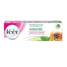 Veet Hair Remover Cream Naturals Normal & Dry Skin with Papaya Extract 100g